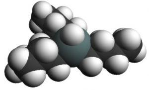 Molécula de TBT